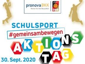 Aktionstag Schulsport am 30. September