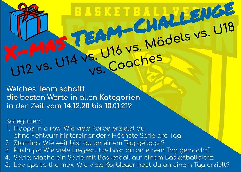 X-mas Team-Challenge   Basketball Schwerin