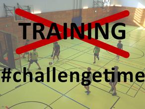 Kein Training? Challenge-Time!