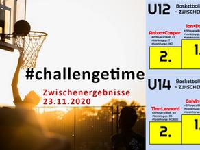 #challengetime: Zwischenergebnisse am 23.11.