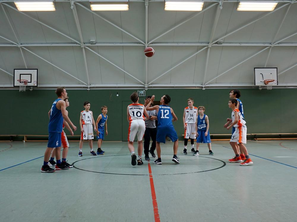U14, die Ergebnisse des 2. Spieltages | Basketball Schwerin
