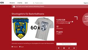 Crowdfunding-Projekt erfolgreich!
