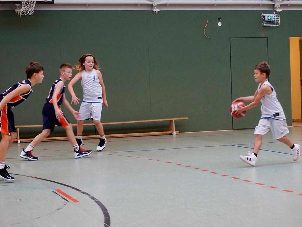 Feuertaufe für die unbeugsamen Schweriner Jungs | Basketball Schwerin