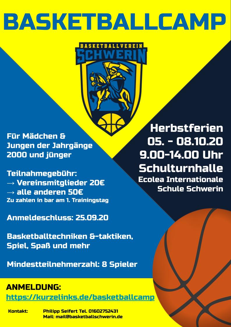 Basketballcamp | Basketball Schwerin