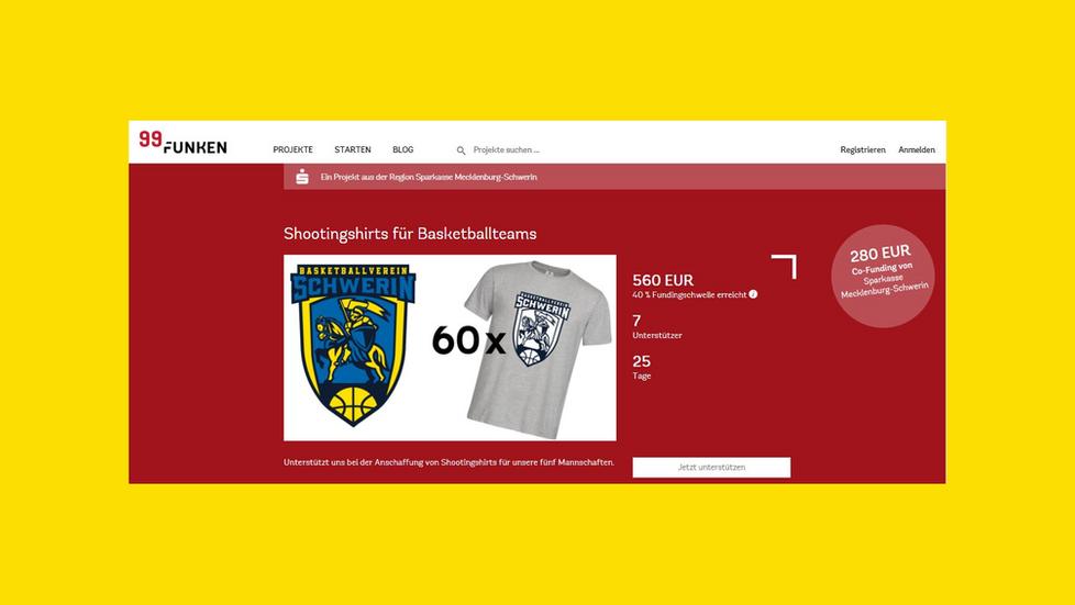Crowdfunding-Projekt für den BV Schwerin