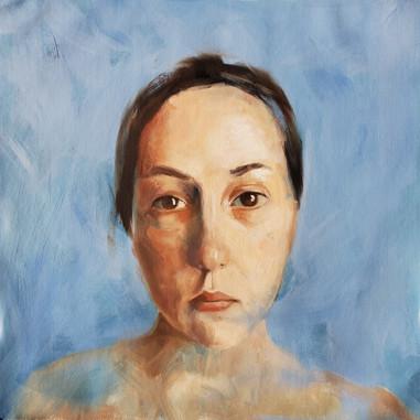 """""""Self Portrait After Alex Kanevsky"""""""