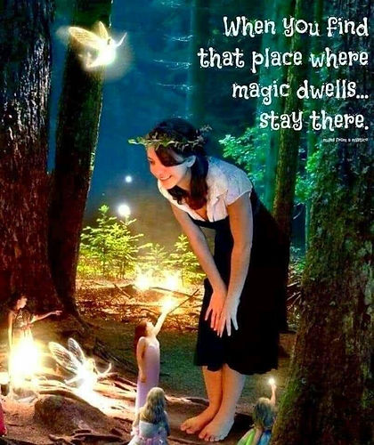 Middle earth, fairies- the medium healer
