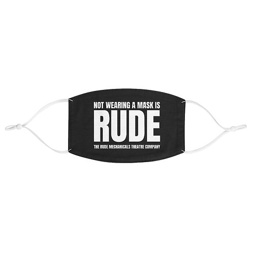 RUDE Face Mask - Profits to Doctors Without Borders