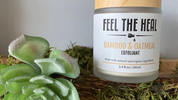Bamboo & Oatmeal Exfoliants