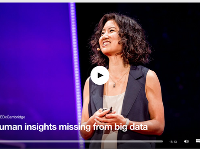 TEDxCambridge: The Human Insights Missing From Big Data