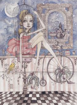 The Girl in the Birdcage