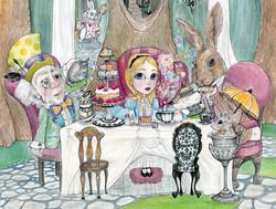 The Tea Party [detail]