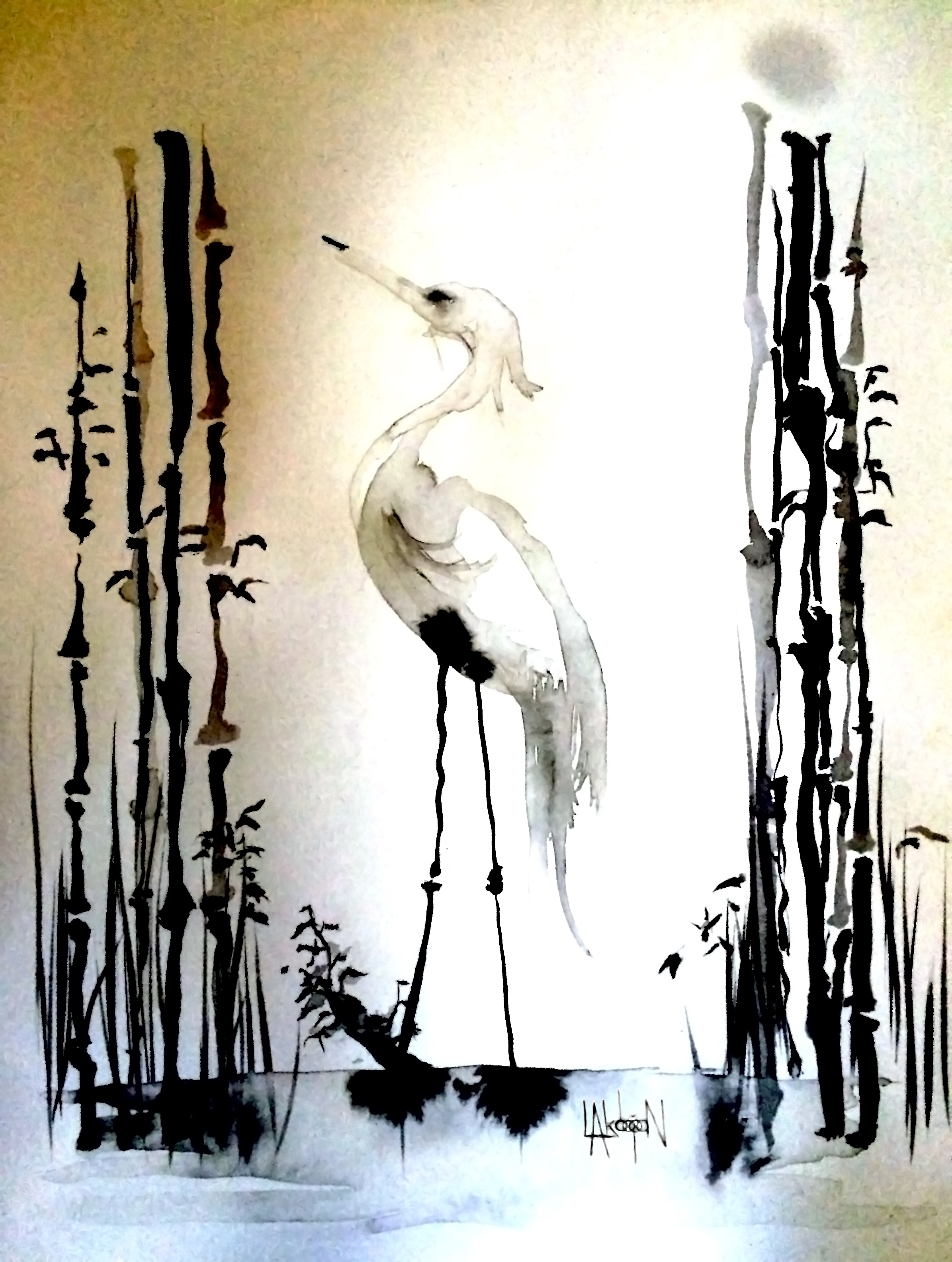 White Heron I
