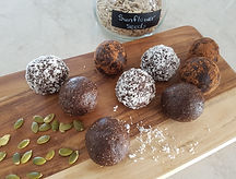 Date and nut protein balls