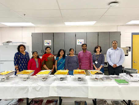 Indian Lunch for Staff May 10