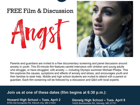 """Catch """"Angst"""" Wednesday 6:30pm"""