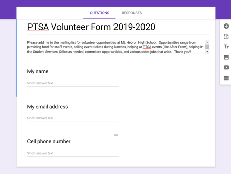 Receive Volunteer Opp Emails