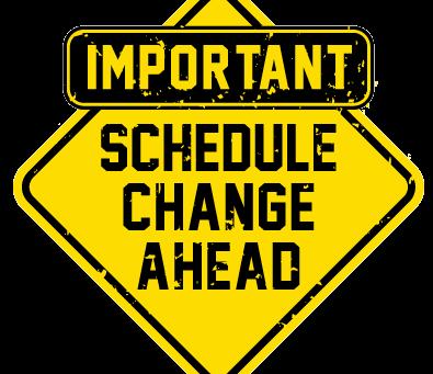 Oct. 10 - New PTSA Mtg Date