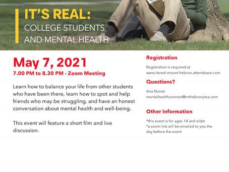 Mental Health Matters April 24-May 7