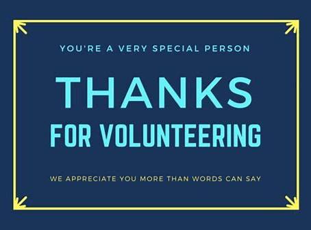 Volunteer Reception May 22