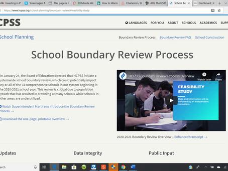 Redistricting aka Boundary Review