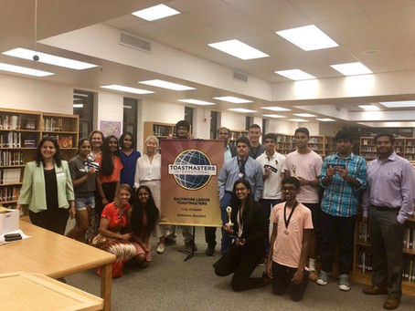 Toastmasters Finale