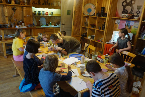 Занятие с детьми 30 марта 19г Александра