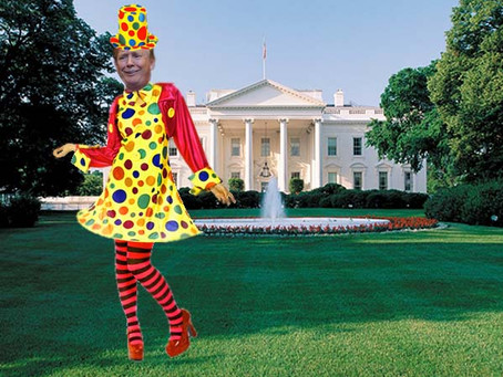 A Clown's Tour Of The White House - Part 1