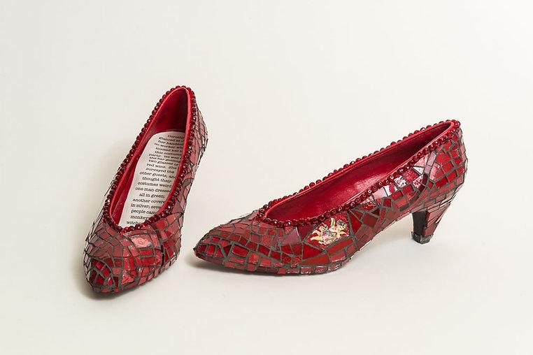 Dorothy's red heels