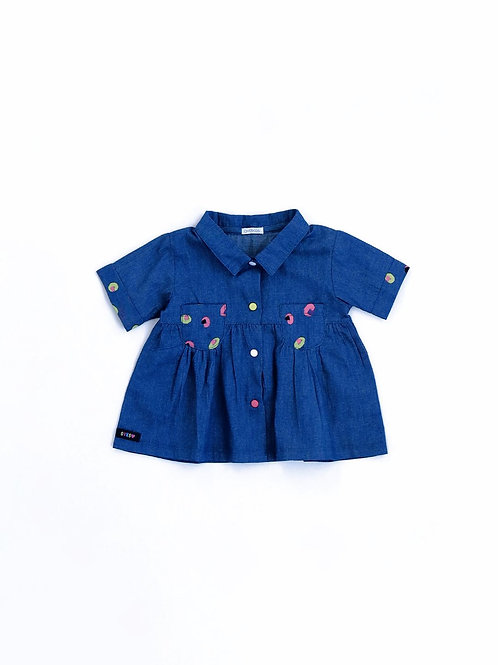 6061 CAMICIA IN CHAMBRAY