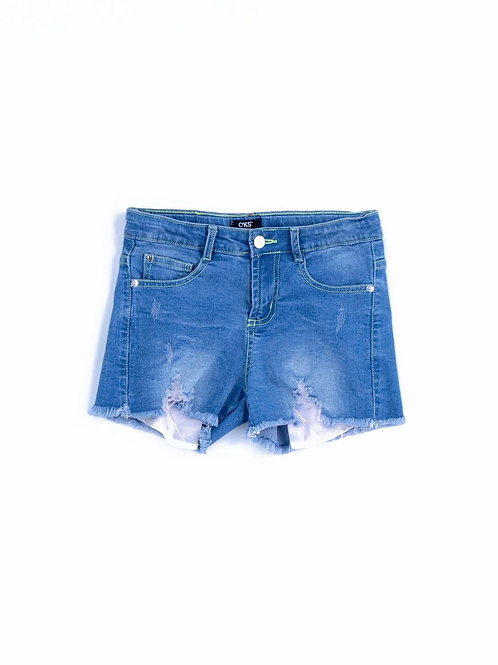 6287 SHORTS IN JEANS