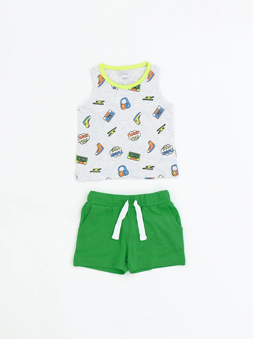 7011 SET CANOTTA / SHORTS