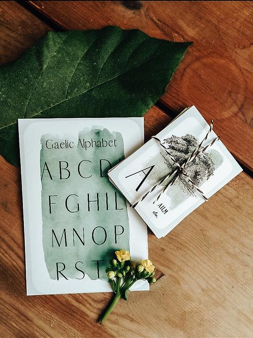 Scottish Gaelic Alphabet