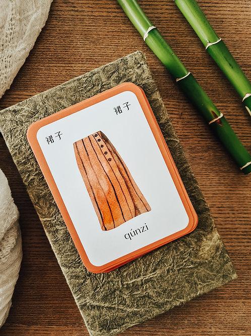 Mandarin Household Objects