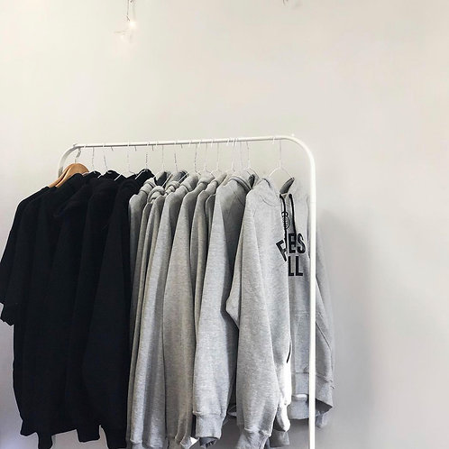 Grey FM Hoodie