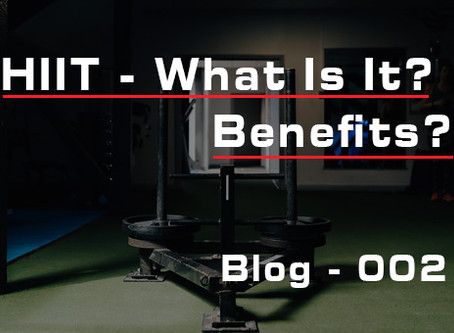 Interval Training. The Hidden Benefits - Blog #002