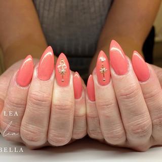 coral stiletto nails.jpg