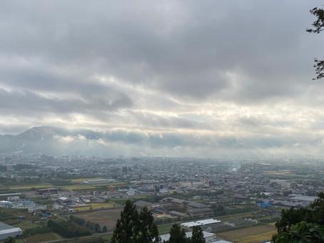 年内最後~Autumn Sky Yoga in ふるさとの森 文化公園