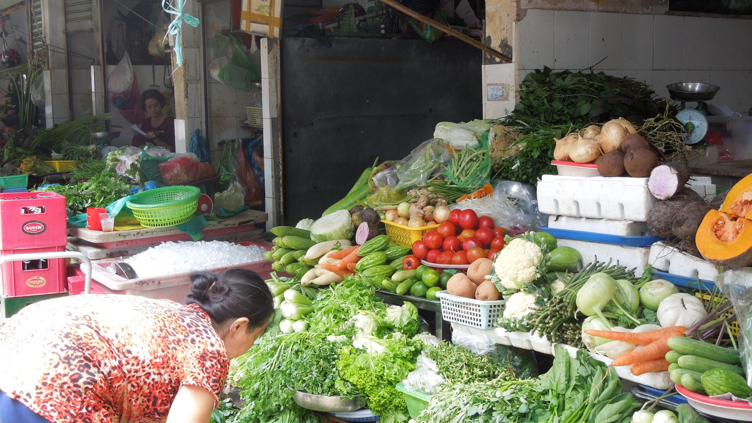 野菜・香草売り場