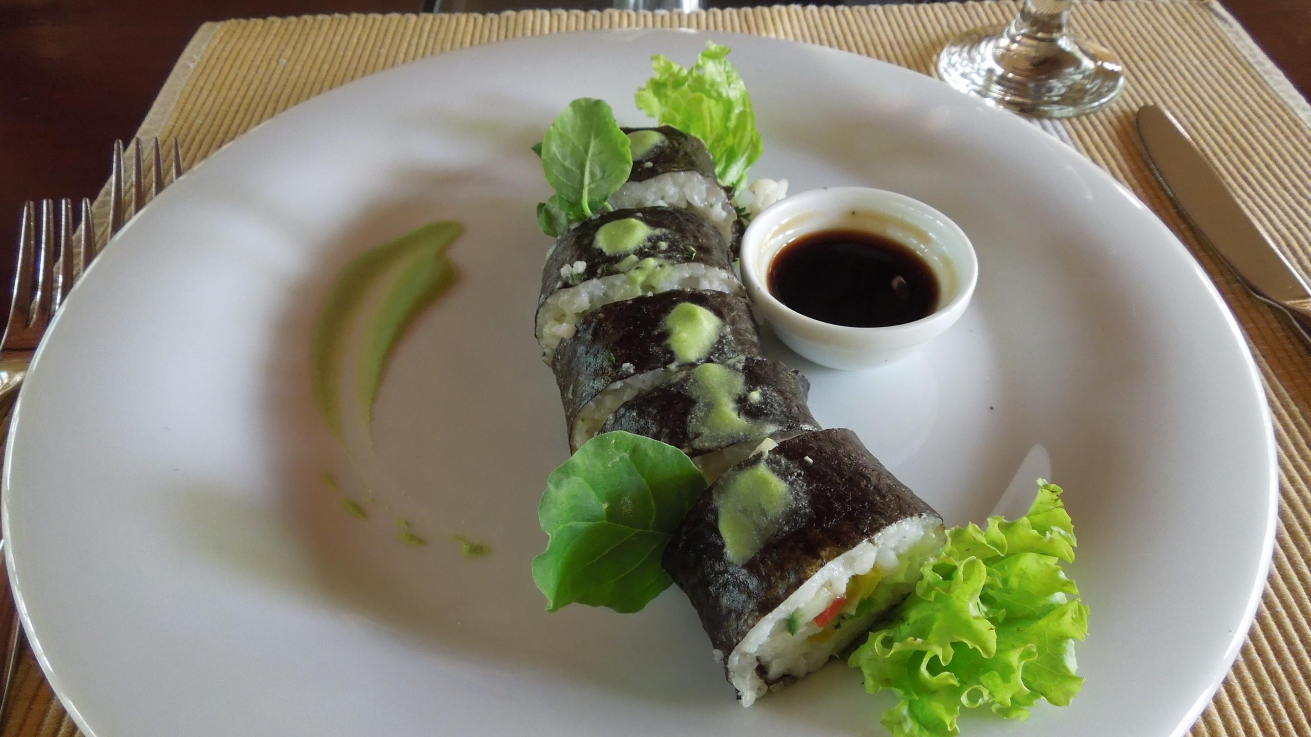 スリランカ風寿司