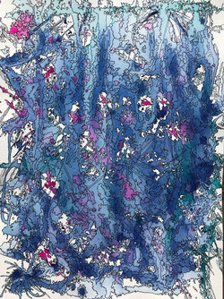 Albright-Raindrops & Roses-12x16-250-watercolor & ink