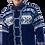 Thumbnail: Classic Unisex Blue Cardigan COB
