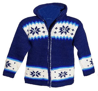 Fleece Lined Kids Sweater KBS