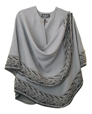 Gray Bella Cape
