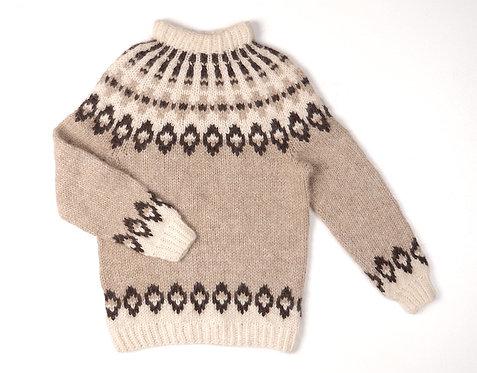 Handknit Icelandic Pullover