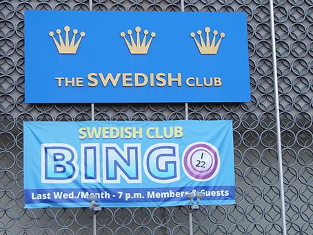 Swedish Club BINGO!