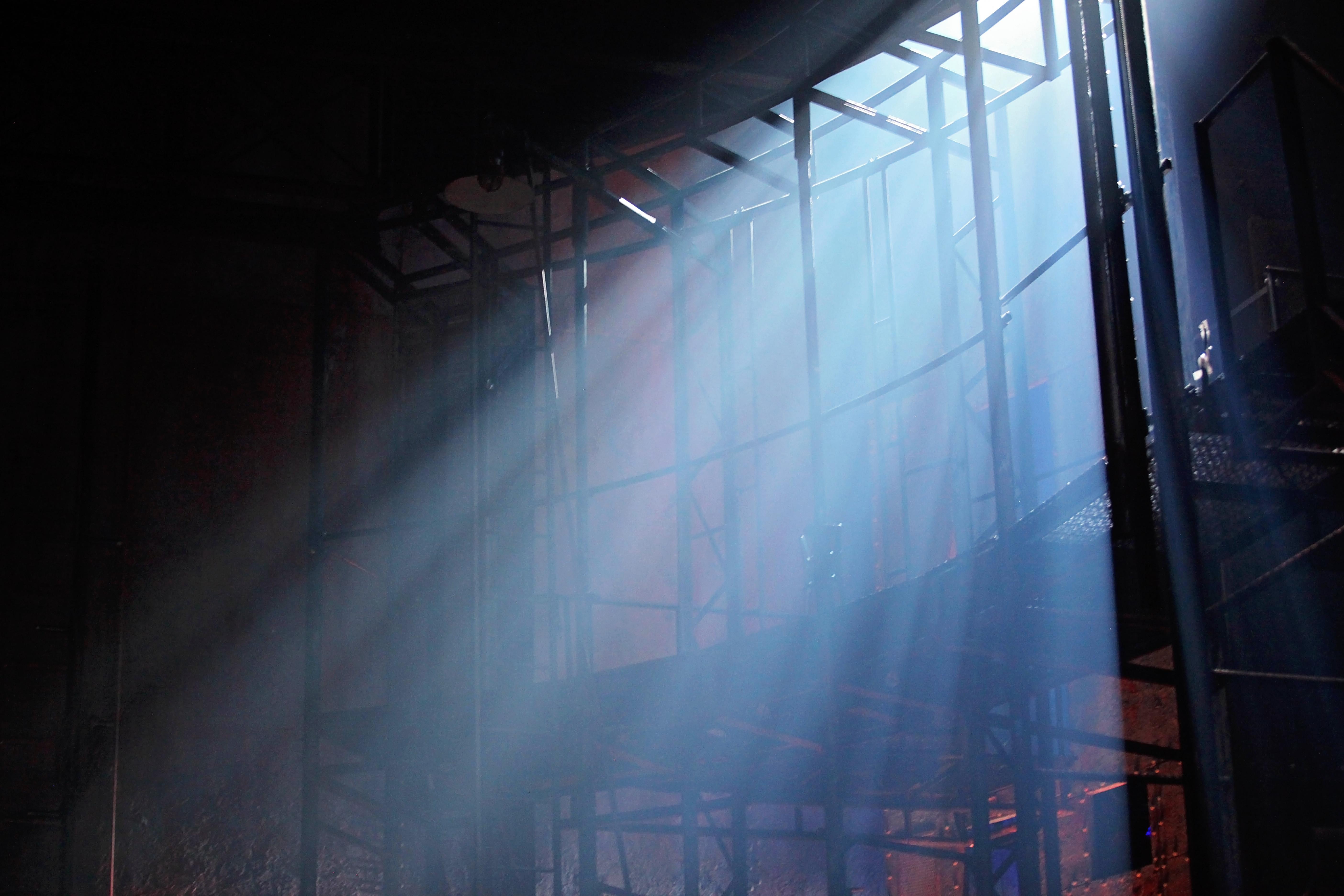 Light through grid