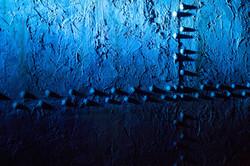 Back wall Blue