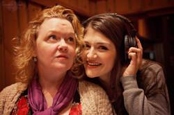 Leah and Sarah Recording