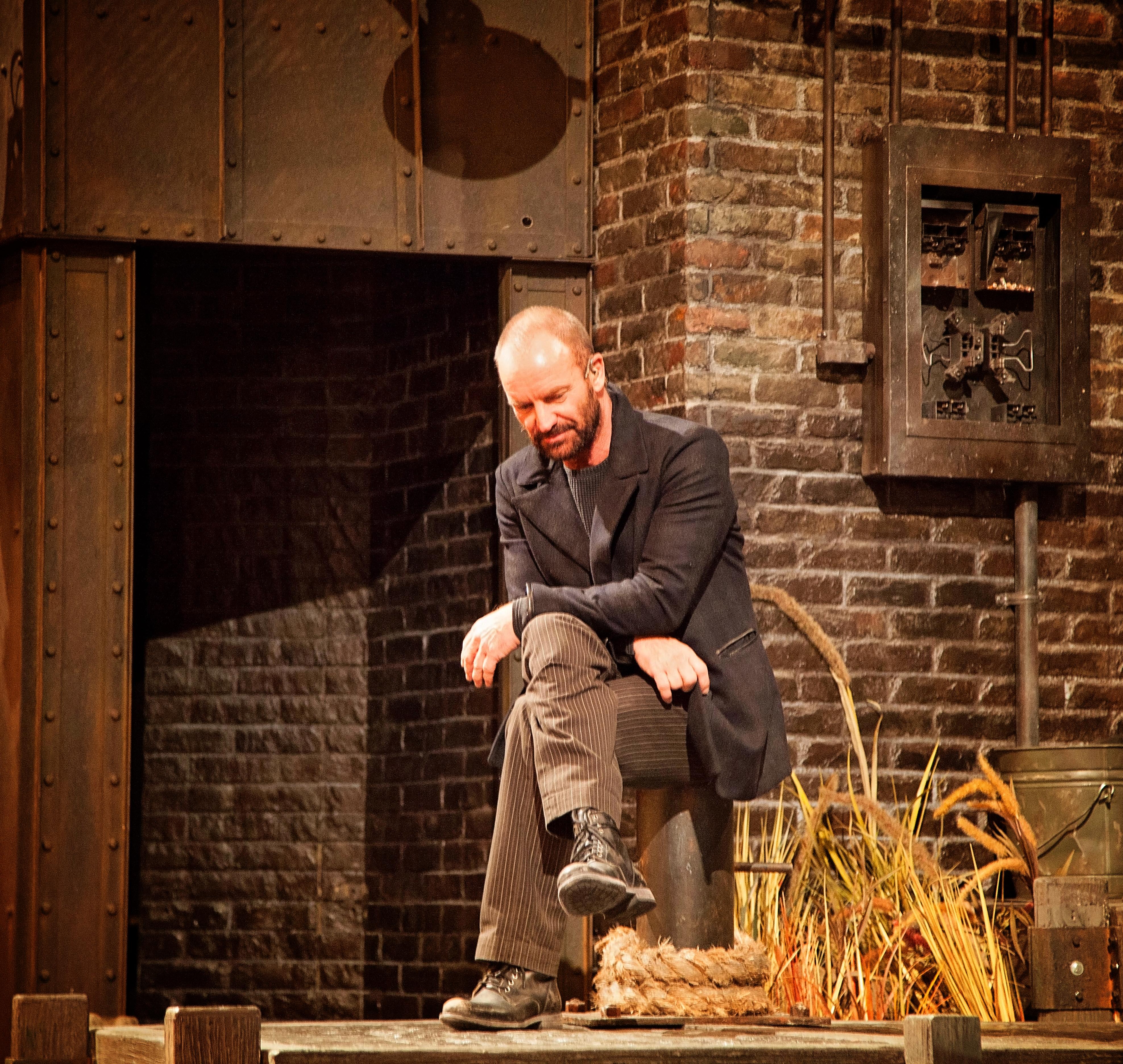 Sting as Jackie White